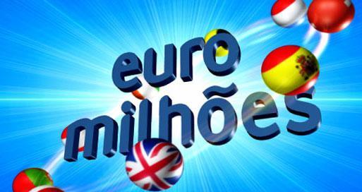 Valor das apostas do euromilhoes