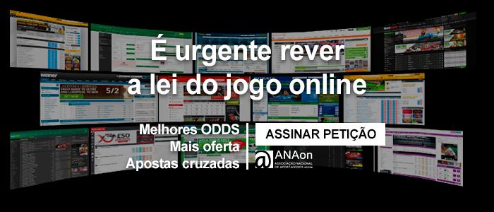 Lei das apostas online portugal