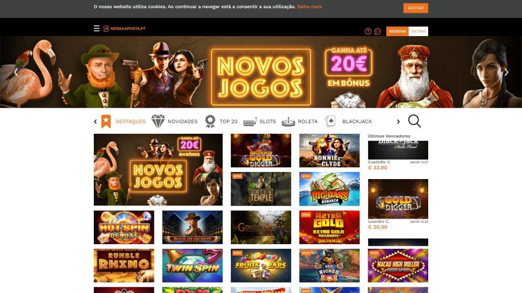 Casino nossa aposta homepage