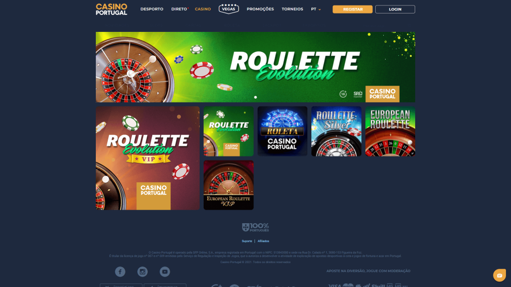 Casino Portugal Roleta