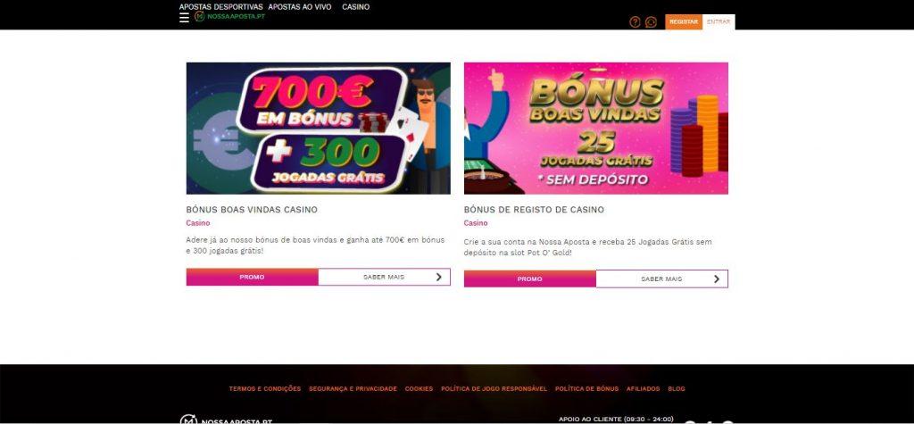 casino nossa aposta promoções
