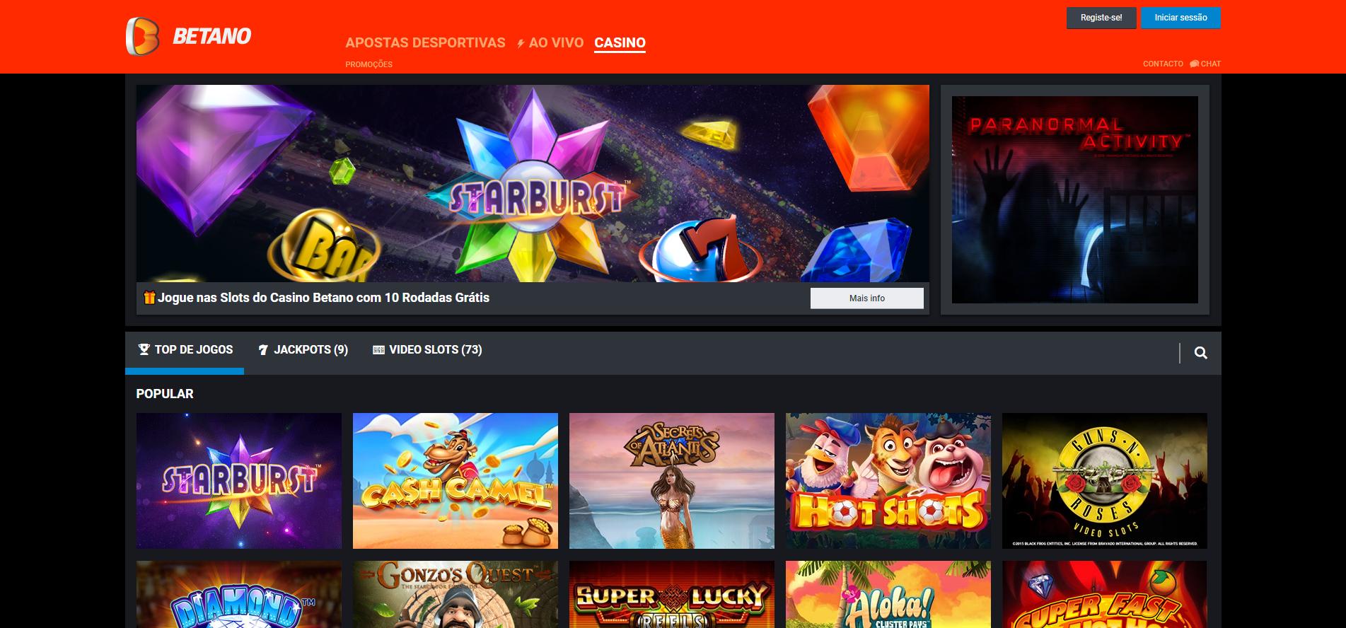 Betano casino o site de entretenimento