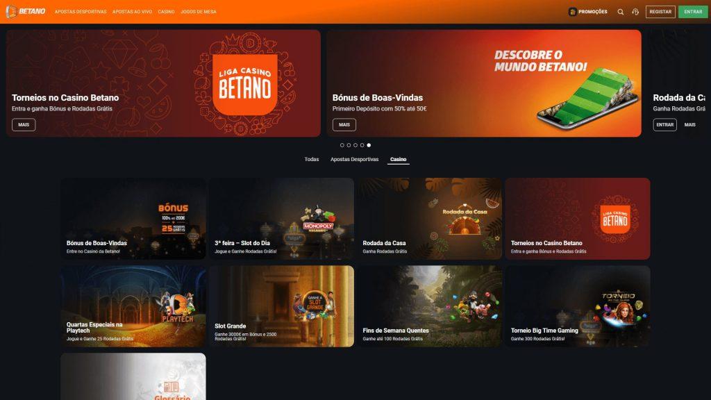 Casino Betano Promoções