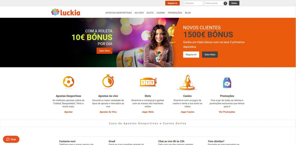 Casino Luckia Homepage