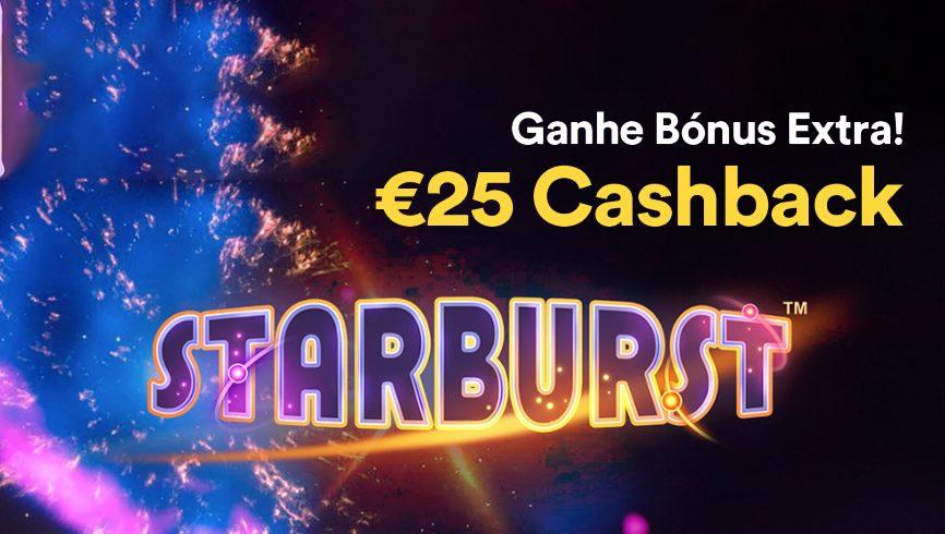 starburst com bónus extra no casino solverde