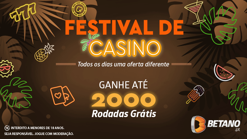 festival de casino na betano