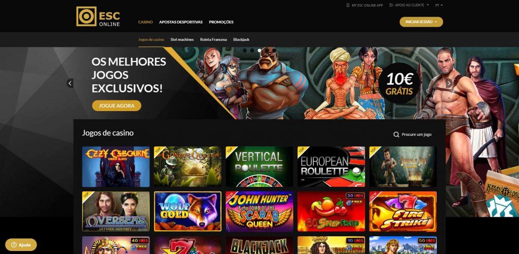 o site do Casino Estoril Online