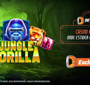 Jungle Gorilla Exclusivo Betano