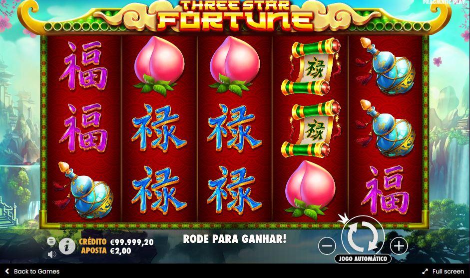 Three star fortune pragmatic slot