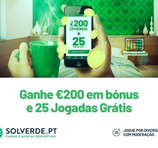 Promoção Solverde até €200