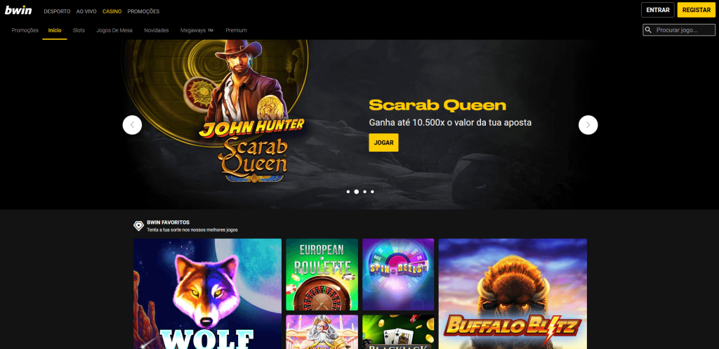 Bwin casino homepage